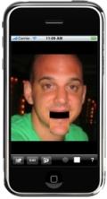 Screenshot, Bigmouth for iPhone