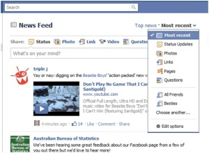 Viewing Lists on Facebook