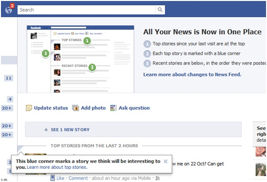 Facebook guides you through latest changes