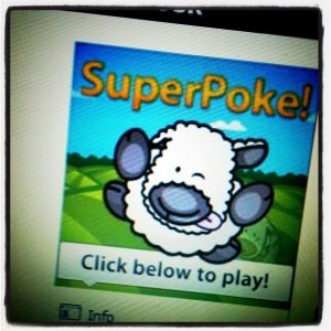 Facebook flashback: SuperPoke!