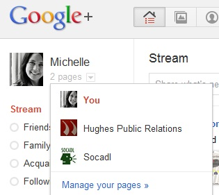 GooglePlus - how to find your Pages