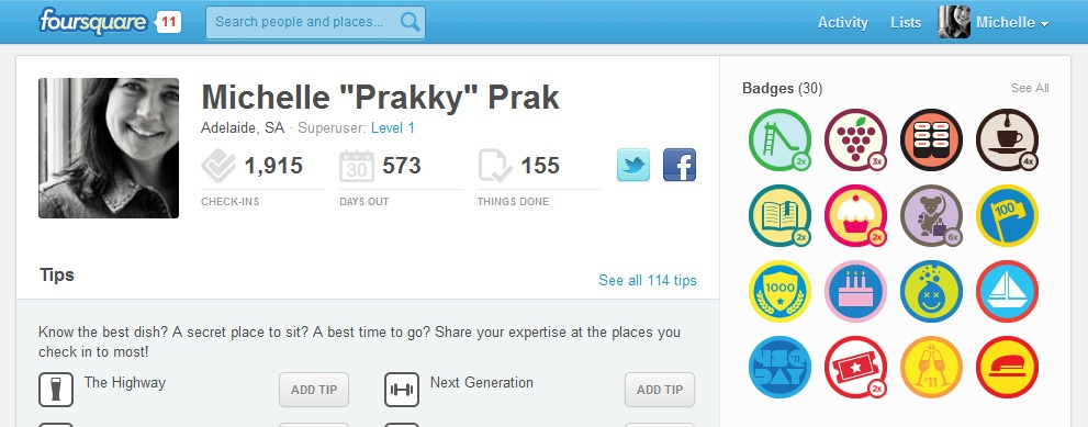 Prakky on Foursquare