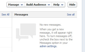 New admin panel for Facebook Pages