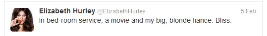 Hurley tweet