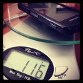 Weighing how much you tweet