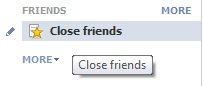 Friends Lists on Facebook are handy