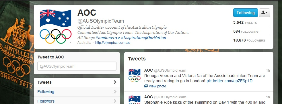 Australian Olympics team