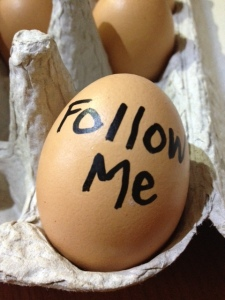 Don't be an egghead on Twitter