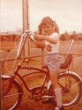 Prakky, wannbe writer and cyclist of the 70s