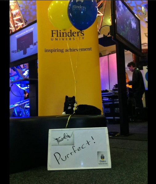 Trim the cat, Flinders University
