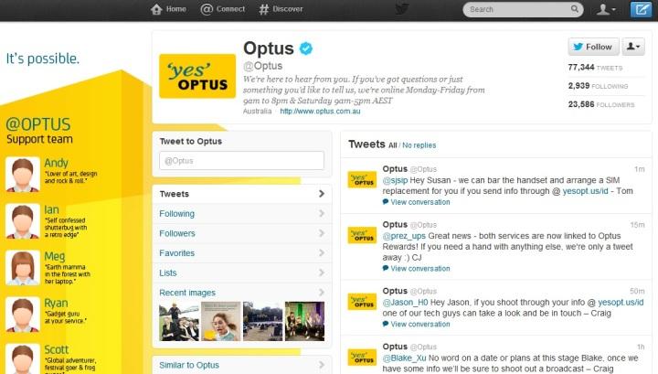 @Optus on Twitter