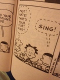 Even Big Nate has stage fright