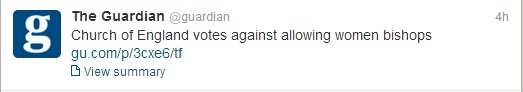 Guardian Tweet
