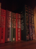 Part of my Jack Reacher collection