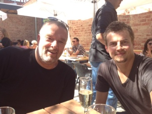 @aqualung and @mikaelliddy at pub event that we don't seem to have listed ...