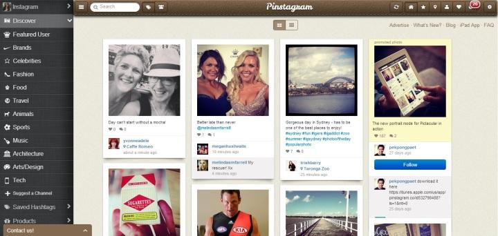 Prakky's Instagram feed via Pinstagram
