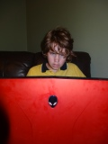 Eldest Son gaming via Alienware