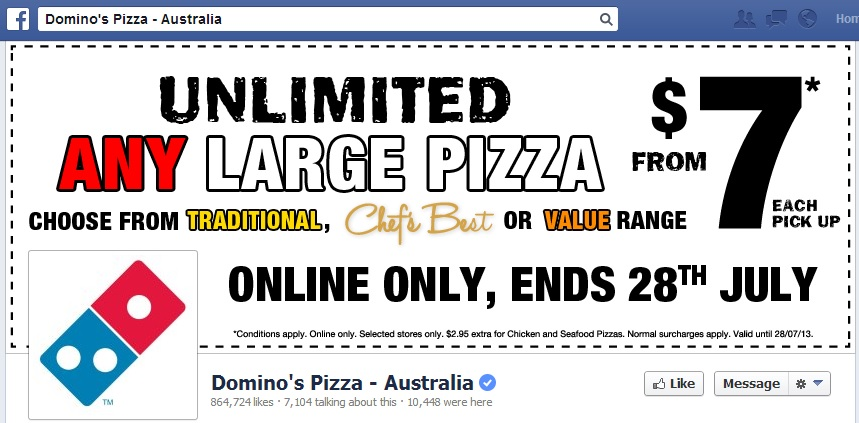 Dominos Australia cover image