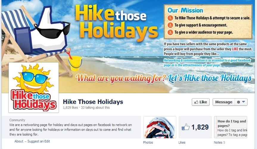 Hike Those Holidays cover image