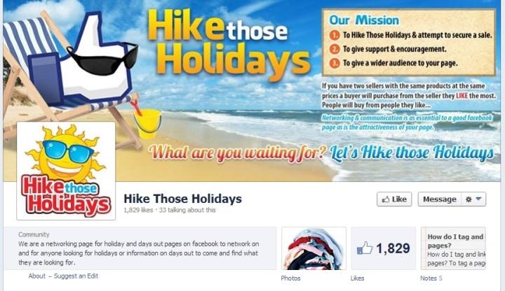 Hike Those Holidays cover image