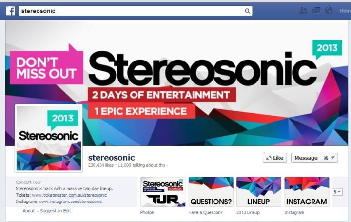 Stereosonic cover image