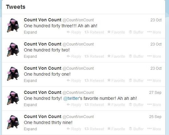 Count von  Count on Twitter