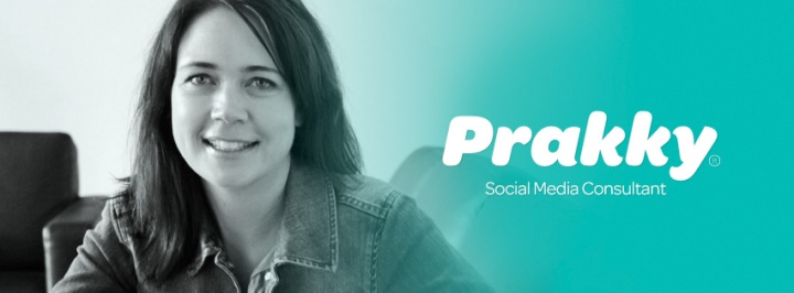 A Prakky Facebook cover by blank studio