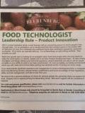 Beerenberg job ad