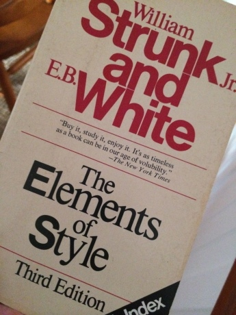 The Elements of Style book cover